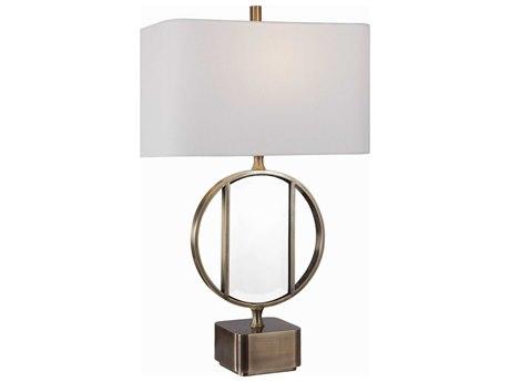 Uttermost Luciana Antique Brushed Brass Buffet Lamp