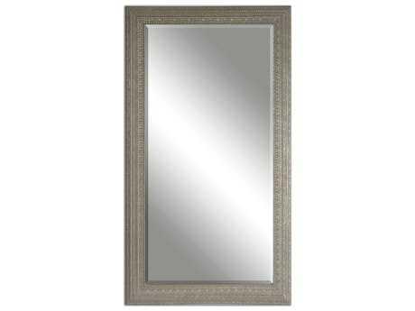 Uttermost Malika 39 x 69 Antique Silver Wall Mirror UT14603