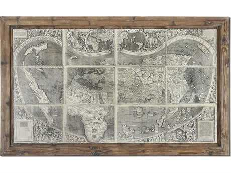 Uttermost Treasure Map Framed Wall Art UT34025