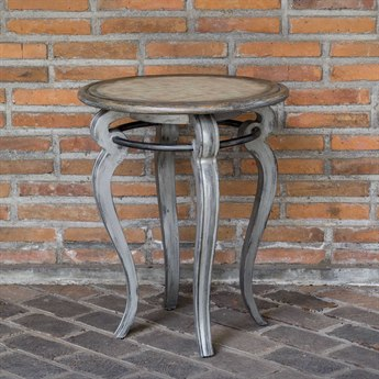 Uttermost Mariah 22'' Wide Round End Table UT25843