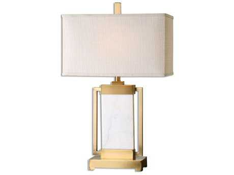 Uttermost Marnett White Marble Table Lamp UT269401
