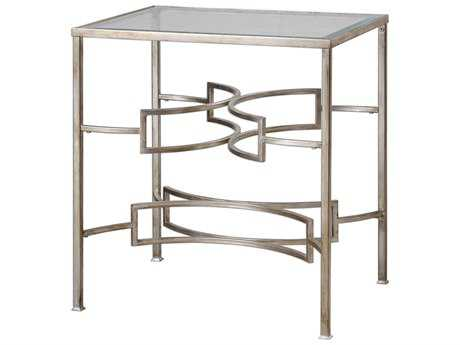 Uttermost Matthew Williams Eilinora Silver End Table