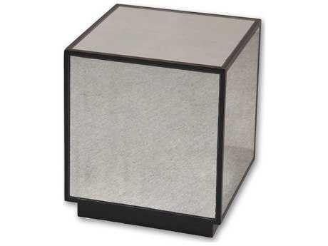 Uttermost Matty 16 Square Mirrored Cube End Table