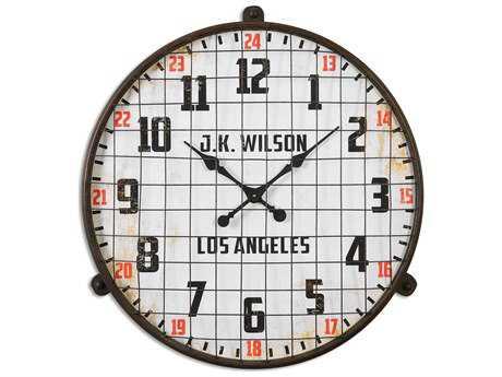 Uttermost Max Aged Wall Clock UT06424