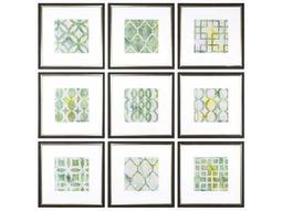 Metric Links Geometric Wall Art (Set of 9)
