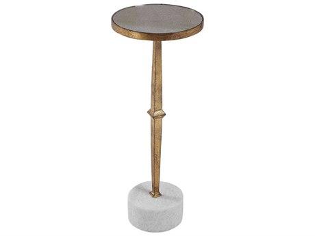 Uttermost Miriam 9'' Wide Round Pedestal Table UT24882
