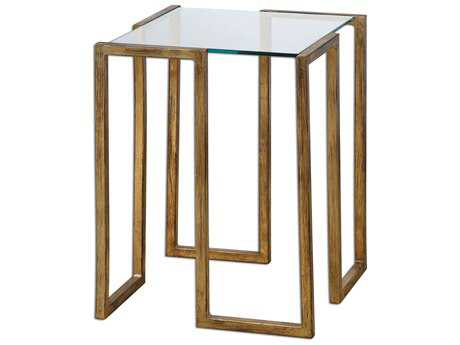 Uttermost Mirrin 16.25 Square Accent Table