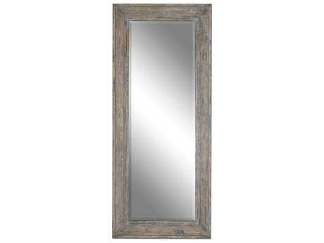 Uttermost Missoula 34 x 82 Distressed Leaner Floor Mirror UT13830