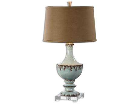 Uttermost Rossa Light Blue Table Lamp Ut26783