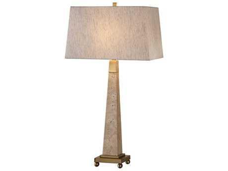Uttermost Montolo Light Brown Marble Table Lamp UT27324