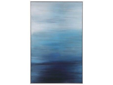 Uttermost Moonlit Sea Canvas Wall Art