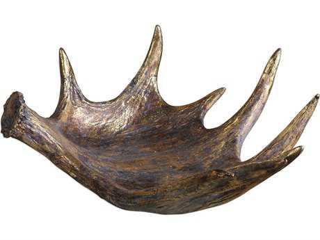 Uttermost Moose Antler Rustic Bowl UT20152