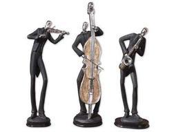 Musicians Decorative Figurines (3 Piece Set)