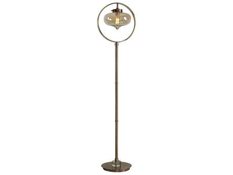 Uttermost Namura Crystal Glass Floor Lamp UT281541