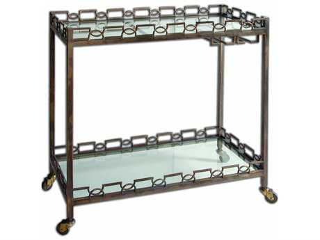 Uttermost Nicoline Iron Serving Cart UT24307