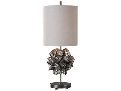 Uttermost Nipa Palm Golden Champagne Table Lamp UT293751