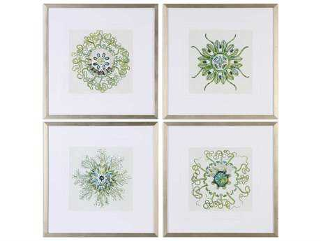 Uttermost Organic Symbols Print Art (Set of Four) UT33656