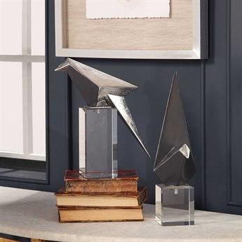 Uttermost Origami Bird Sculpture UT18993
