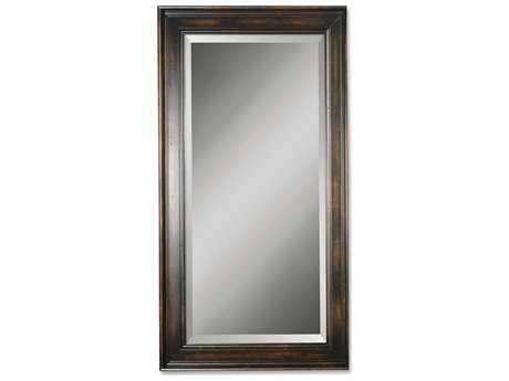 Uttermost Palmer 40 x 70 Dark Wood Wall Mirror UT01018B