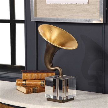 Uttermost Phonograph Sculpture