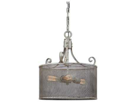 Uttermost Pontoise Three-Light Drum Pendant