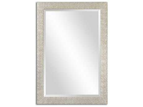Uttermost Porcius 29 x 41 Antiqued Silver Wall Mirror UT14495