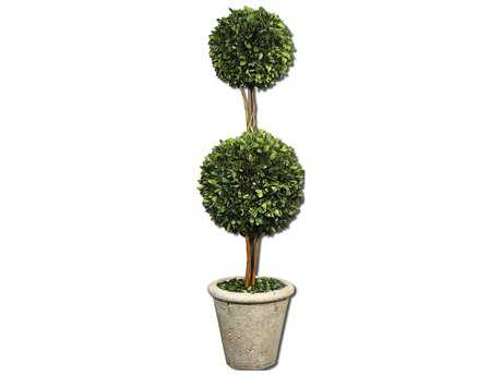 Uttermost Two Sphere Topiary Preserved Boxwood UT60106