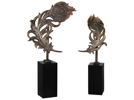 Uttermost Quill Feathers Sculpture