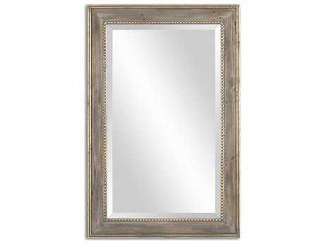 Uttermost Quintina 24 x 36 Pine Wall Mirror UT14496