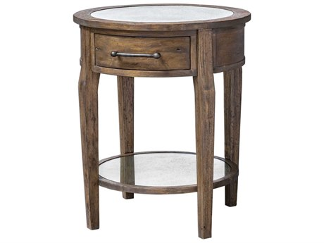 Uttermost Raelynn 24'' Wide Round End Table