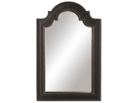 Uttermost Ribbed Arch 29 x 45 Antique Wall Mirror UT01760P