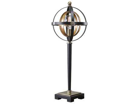 Uttermost Rondure Dark Oil Rubbed Bronze Table Lamp