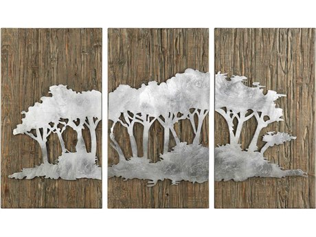 Uttermost Safari Views Metal Wall Art Wood UT04121