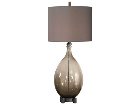 Uttermost Saimara Glass Buffet Lamp UT27878