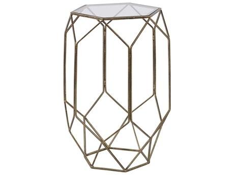 Uttermost Sanders 15'' Wide Hexagon Drum Table UT25045