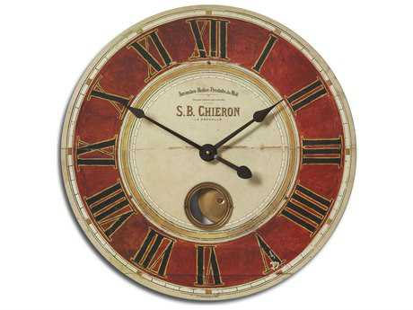 Uttermost S.B. Chieron 23 inch Wall Clock UT06042