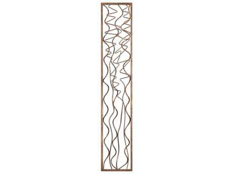Uttermost Scribble Aged Gold Leaf Wall Panel UT04059
