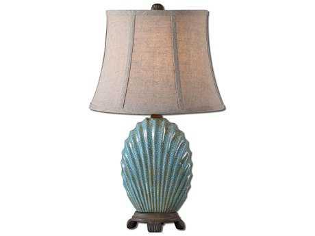 Uttermost Seashell Blue Buffet Lamp UT29321