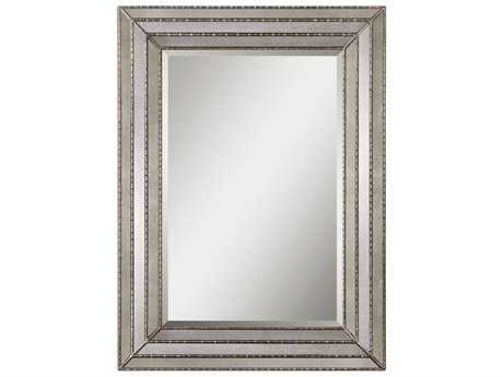 Uttermost Seymour 35 x 47 Antique Silver Wall Mirror