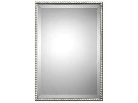 Uttermost Sherise 21 x 31 Brushed Nickel Wall Mirror UT01113