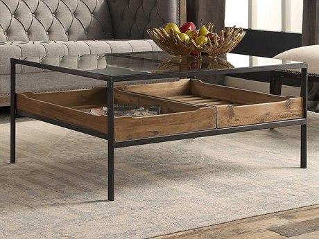 Uttermost Silas 40'' Wide Rectangular Coffee Table