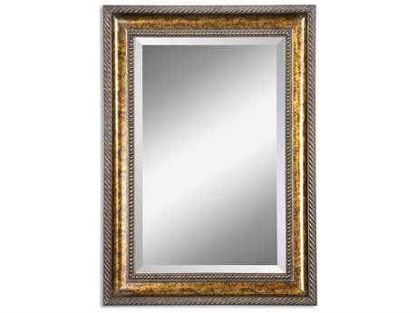 Uttermost Sinatra 31 x 49 Large Bronze Wall Mirror UT11291B