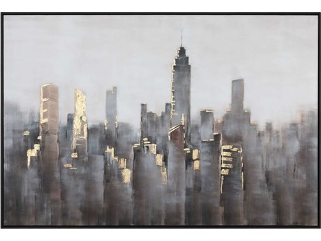Uttermost Skyline Canvas Wall Art
