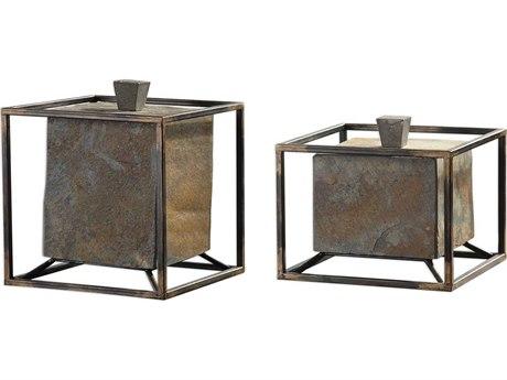 Uttermost Slate Jewelry Box UT18777