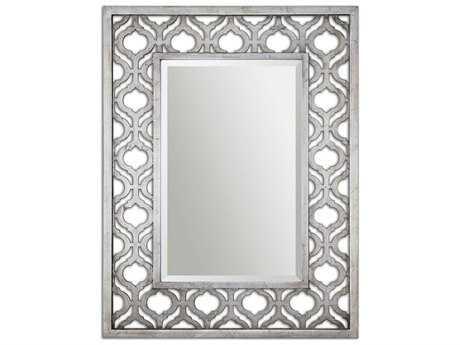 Uttermost Sorbolo 31 x 40 Silver Wall Mirror