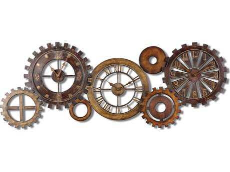 Uttermost Spare Parts Wall Clock UT06788