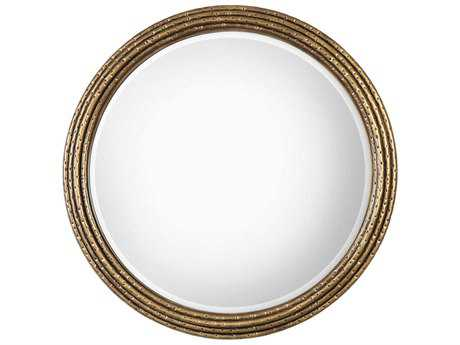 Uttermost Spera Antique Gold 42''Round Wall Mirror UT09183