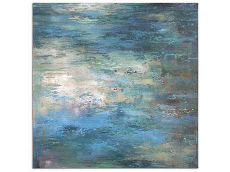 Uttermost Splish Splash Modern Wall Art UT34345