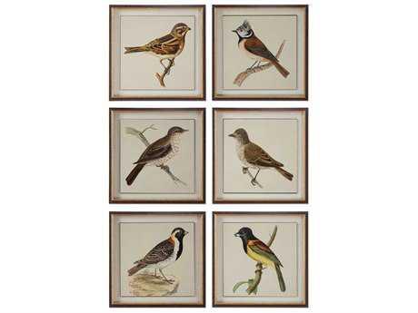 Uttermost Spring Soldiers Bird Prints (Six-Piece Set) UT33627
