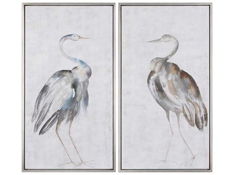 Uttermost Summer Birds Canvas Wall Art UT35353
